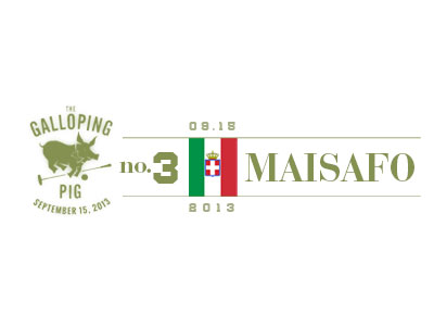 Italian Polo Player Maisafo Branding
